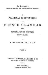 A practical introduction to French grammar and conversation for beginners