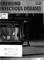 Emerging Infectious Diseases PDF