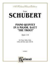 Trout Quintet, Op. 114: String Quintet
