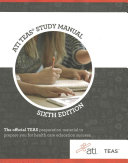 ATI TEAS REVIEW MANUAL 6 E Book