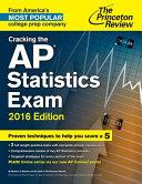 Cracking the AP Statistics Exam  2016 Edition PDF