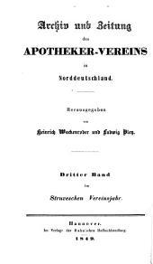 Archiv der Pharmazie und Berichte der Deutschen Pharmazeutischen Gesellschaft: Band 59;Band 109