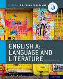 English A   Language and Literature PDF