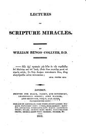 Lectures on Scripture Miracles