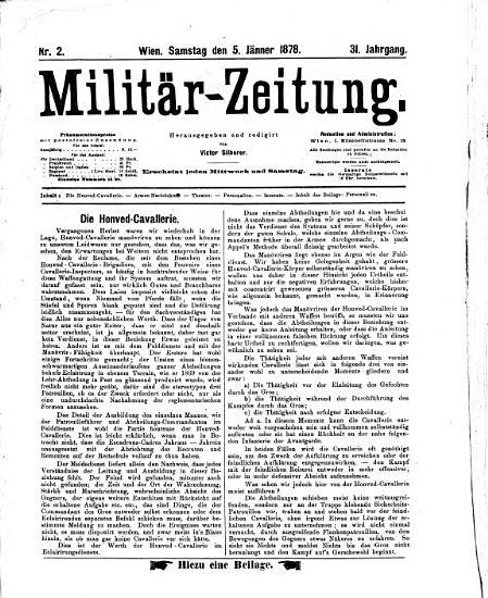 Milit  r Zeitung PDF