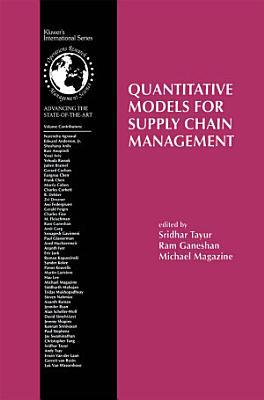 Quantitative Models for Supply Chain Management PDF