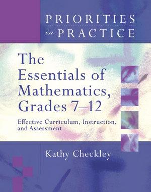 The Essentials of Mathematics  Grades 7 12 PDF