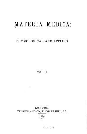 Materia medica PDF