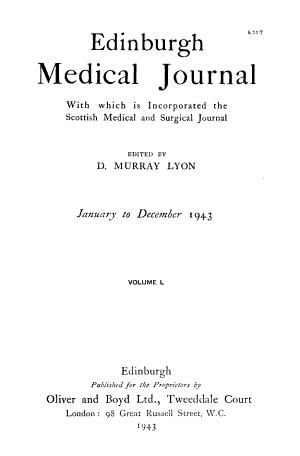 The Edinburgh Medical Journal