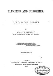 Blunders and Forgeries: Historical Essays