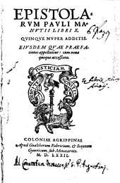 Epistolarum Pauli Manutii Libri X