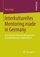 Interkulturelles Mentoring made in Germany PDF