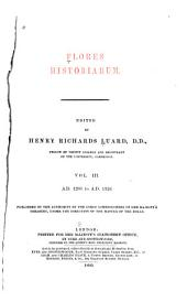 Flores Historiarum: Volume 3