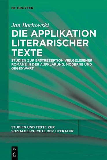 Die Applikation literarischer Texte PDF
