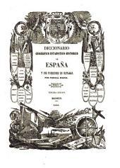Diccionario geografico-estadistico-historico de España y sus posesiones de ultramar: ABA - ALI, Volumen 1