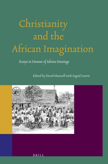 Christianity and the African Imagination PDF