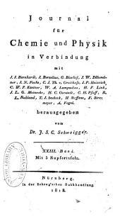 Journal für Chemie und Physik: Band 23