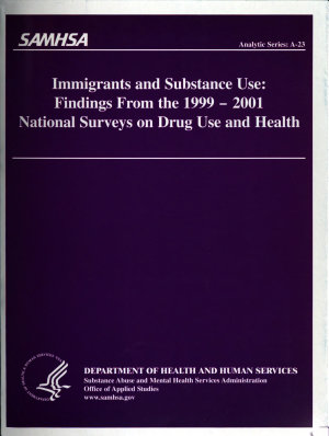 Immigrants and Substance Use