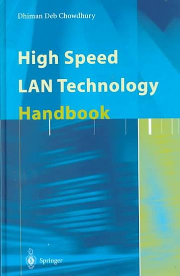 High Speed LAN Technology Handbook PDF