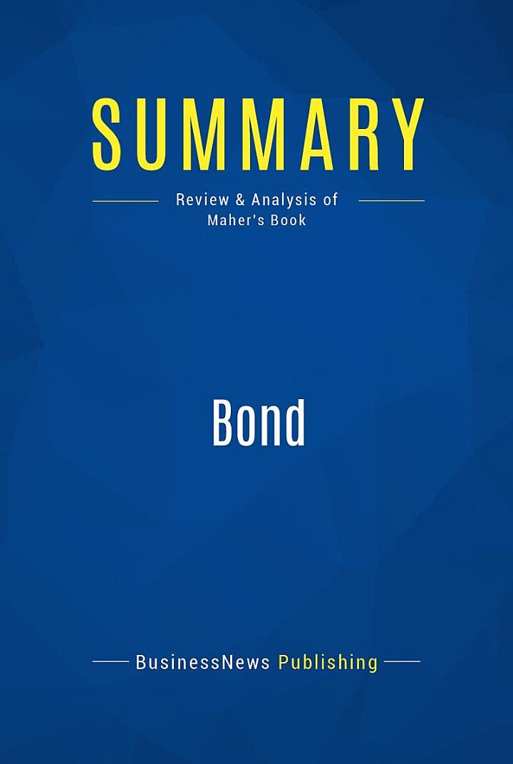 Summary: Bond
