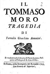 Il Tommaso Moro tragedia di Farnabio Gioachino Annutini