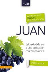 Comentario bíblico con aplicación NVI Juan: Del texto bíblico a una aplicación contemporánea