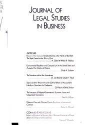 Journal of Legal Studies in Business PDF