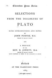Selections from the Dialogues of Plato