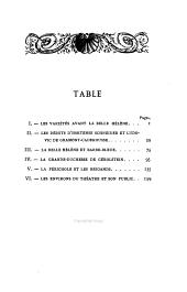 Les Variétés 1850-1870
