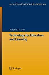 Technology for Education and Learning