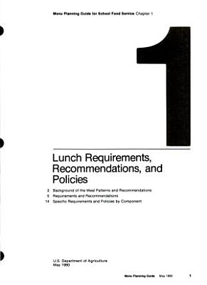 Menu Planning Guide for School Food Service