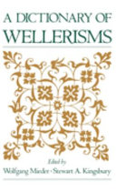 A Dictionary of Wellerisms