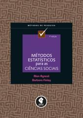 Métodos Estatísticos para as Ciências Sociais
