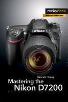 Mastering the Nikon D7200 PDF