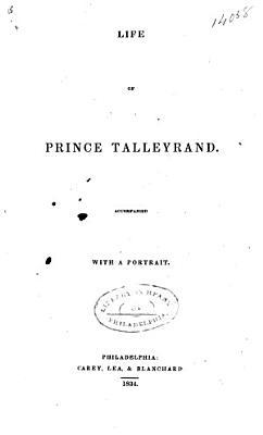 Life of Prince Talleyrand PDF