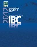 International Building Code 2012 Book