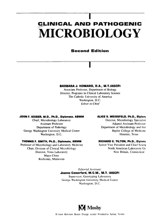 Clinical and Pathogenic Microbiology PDF
