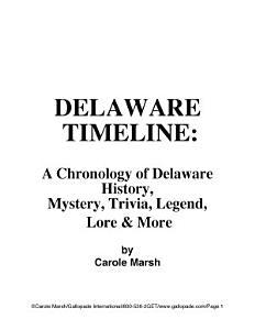Delaware Timeline Book