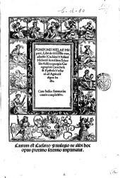 Pomponii Melae Hispani, Libri de situ orbis tres, adiectis Ioachimi Vadiani Heluetii in eosdem scholiis addita quoque in geographiam catechesi