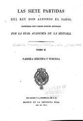 Las siete partidas del rey Don Alfonso el Sabio: Volumen 2
