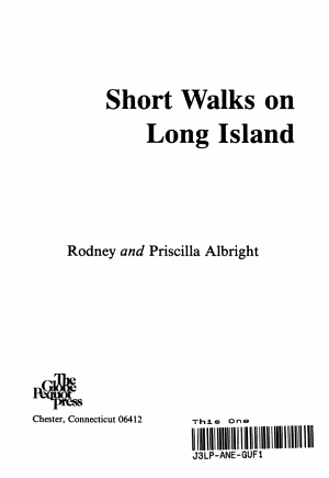 Short Walks on Long Island PDF