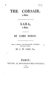 The Corsair: A Tale ; Lara : a Tale