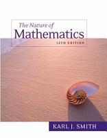 Nature of Mathematics PDF