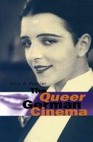 The Queer German Cinema PDF