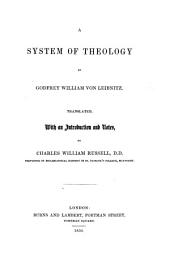 A System of Theology ... translated with an introduction and notes by C. W. Russell