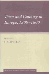 Town And Country In Europe 1300 1800 Book PDF