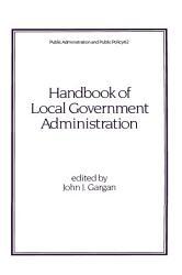Handbook of Local Government Administration PDF