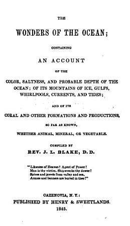The Wonders of the Ocean PDF