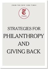 Strategies for Philanthropy and Giving Back