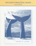 Student Practice Tests  A World of Art PDF